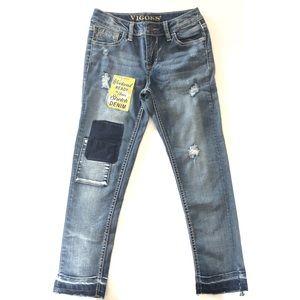 NEW Girls Vigoss Austin Ankle Skinny Jeans